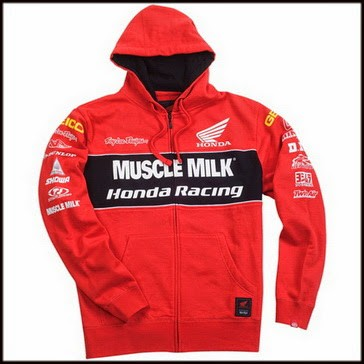 TROY LEE DESIGNS толстовка Honda Team Muscle Milk M (3642-0409)