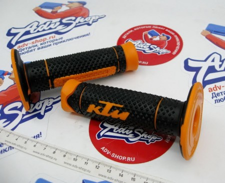 KTM GRIP SET Грипсы SX/ EXC / F 12-16 BLACK/ORANGE ( 78102021000 )