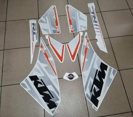 KTM DECAL KIT 390 RC ( 90808099000 )