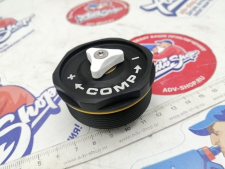 KTM Screw cap M51x1,5 compression cpl. пробка пера (сжатие) EXC 17 -19 ( 48601844S )