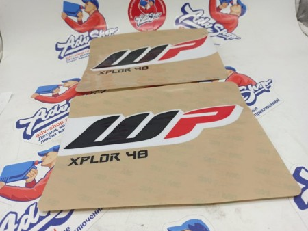 KTM Sticker set XPLOR 48 184x238 комплект наклеек на вилку EXC ( 52000165 )