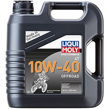 LIQUI MOLY Motorbike 4T Synth Offroad Race 10W40 Масло моторное 4L (3056)