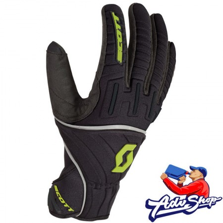Scott перчатки  Ridgeline black / lime - XL ( 626-5305-4 )
