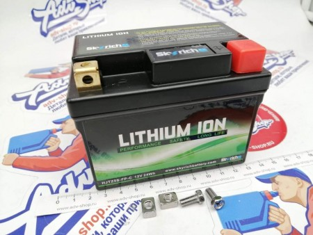KTM LITHIUM ION BATTERY 5S  АКБ  SX-F / EXC-F ( 79111053000  /  79011153000 /  79011153100 / 77311053000 / 51111008000 )  YTX4L-BS